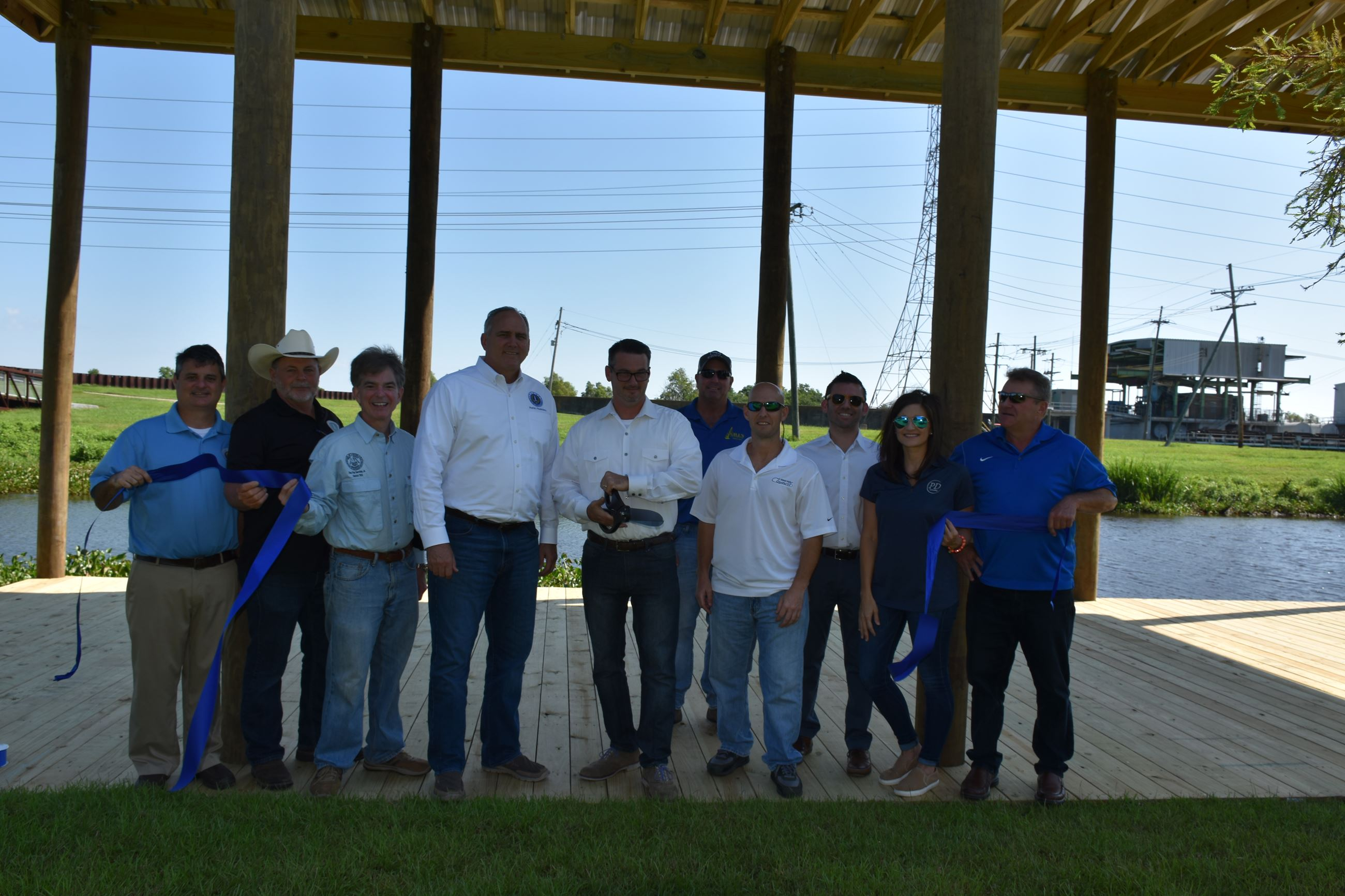 40 Arpent Fishing Pier Ribbon Cutting (13)
