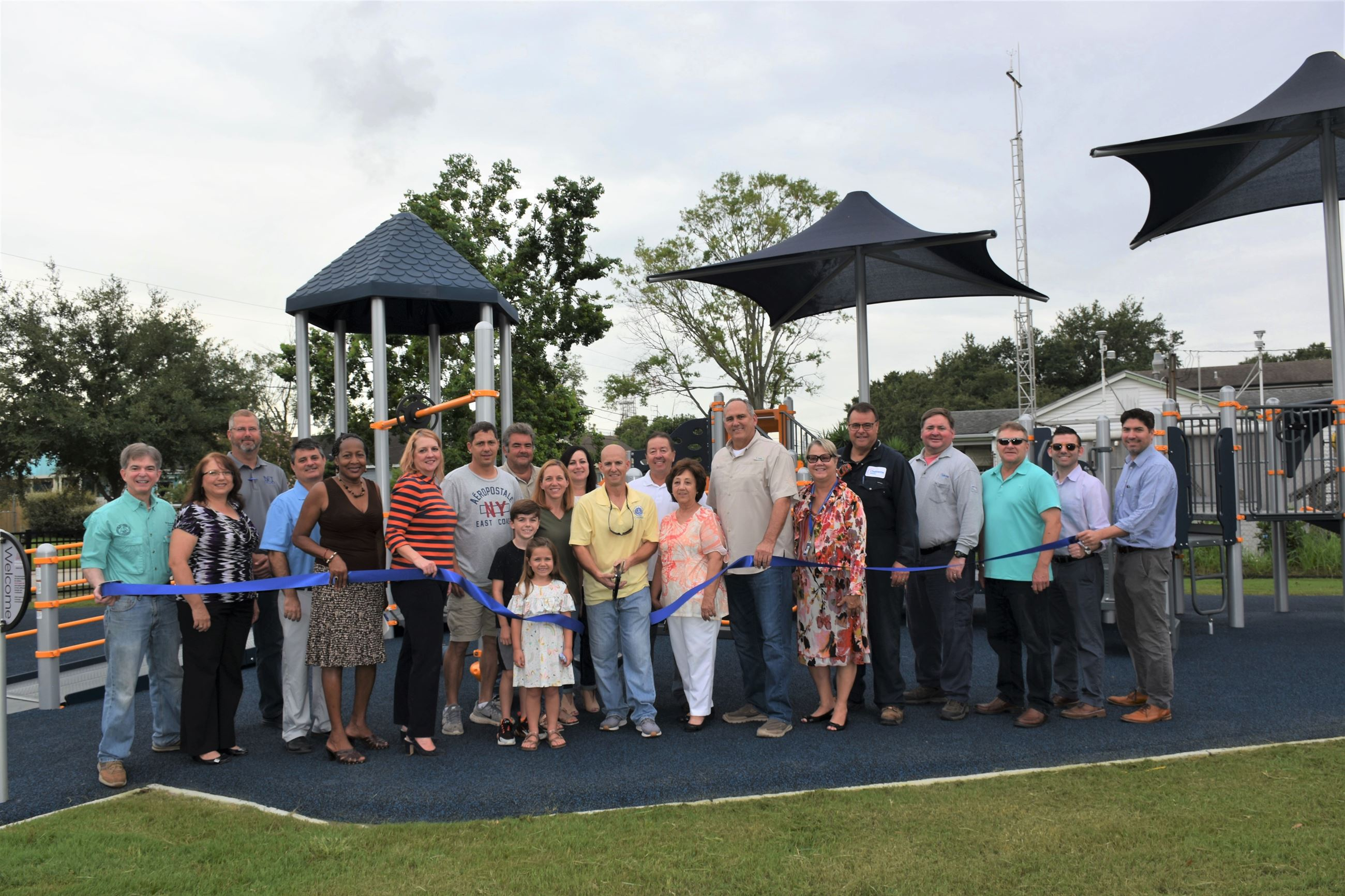 Blue Bird Park Ribbon Cutting (7)