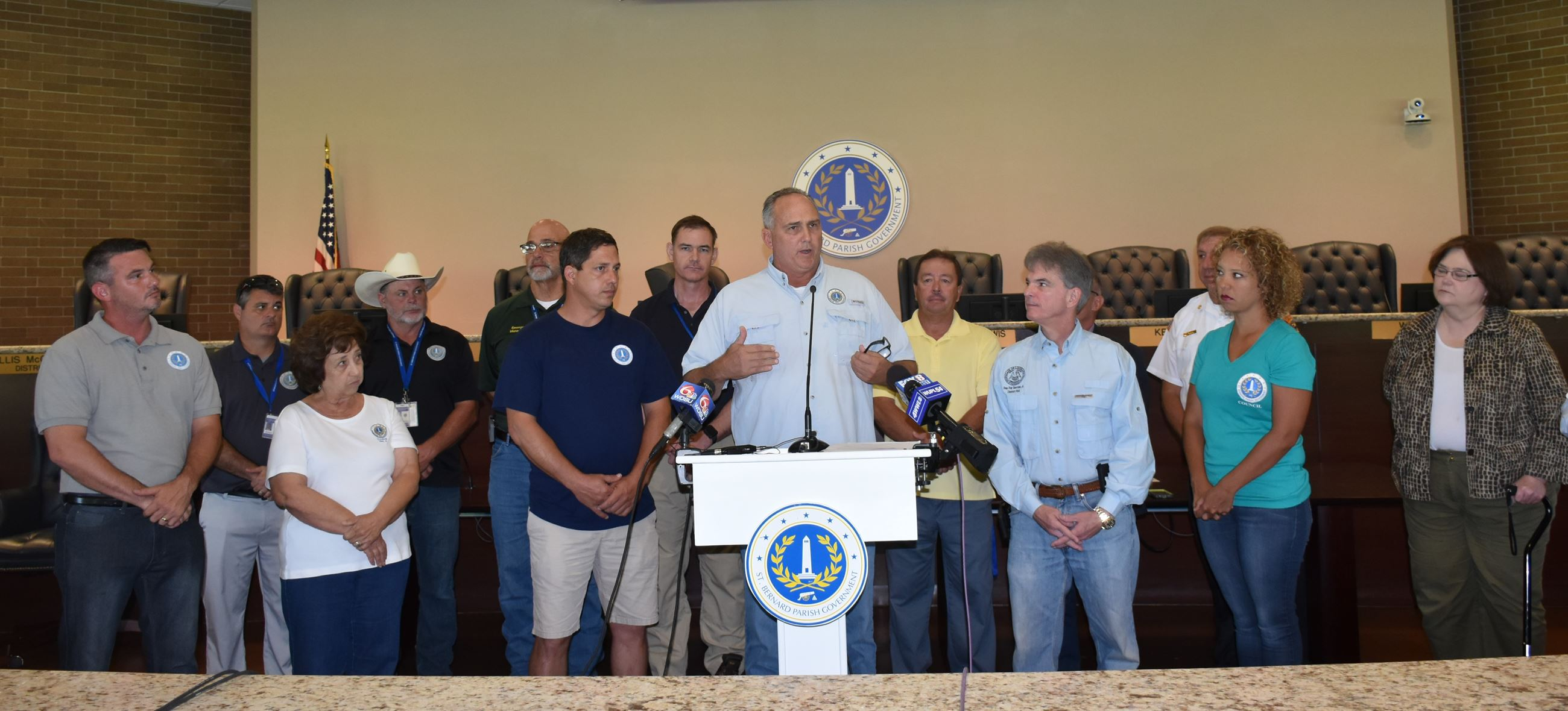 TS Barry Press Conference 2